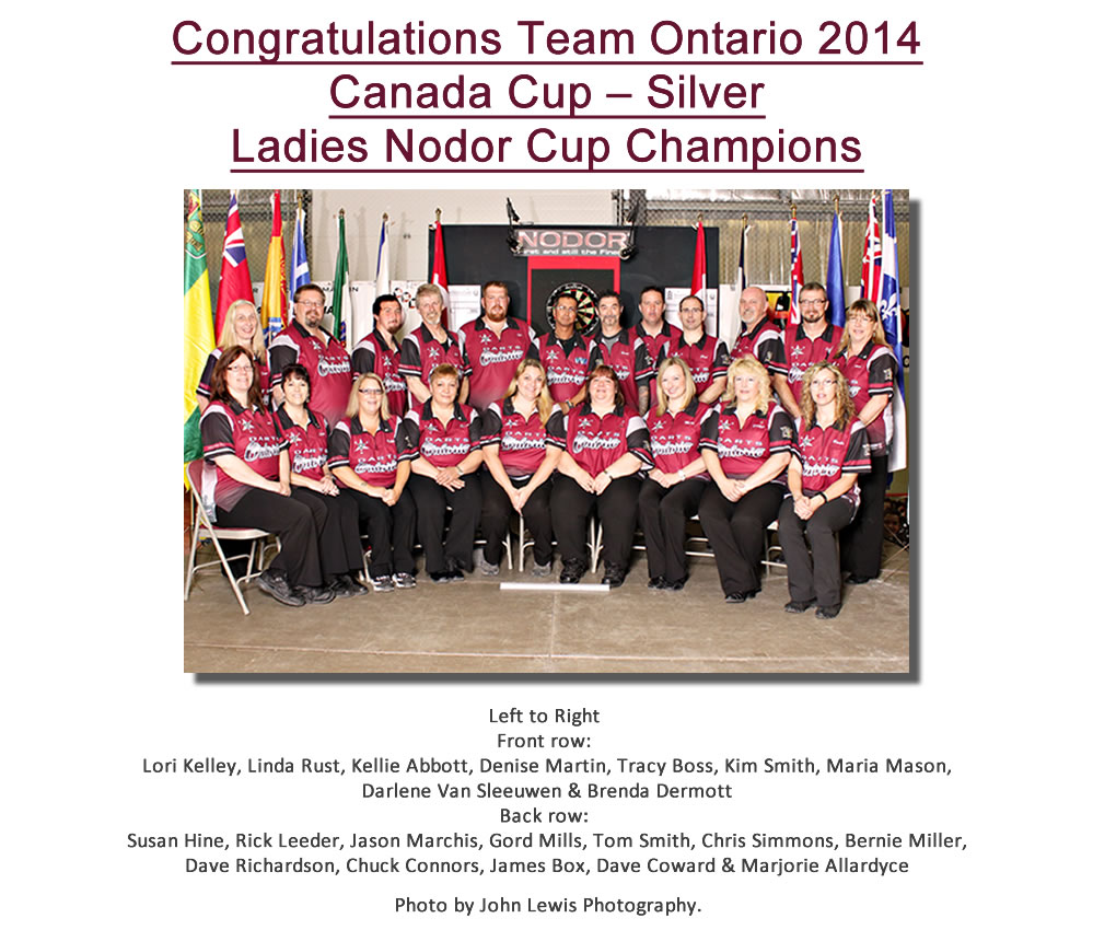 Team Ontario Results