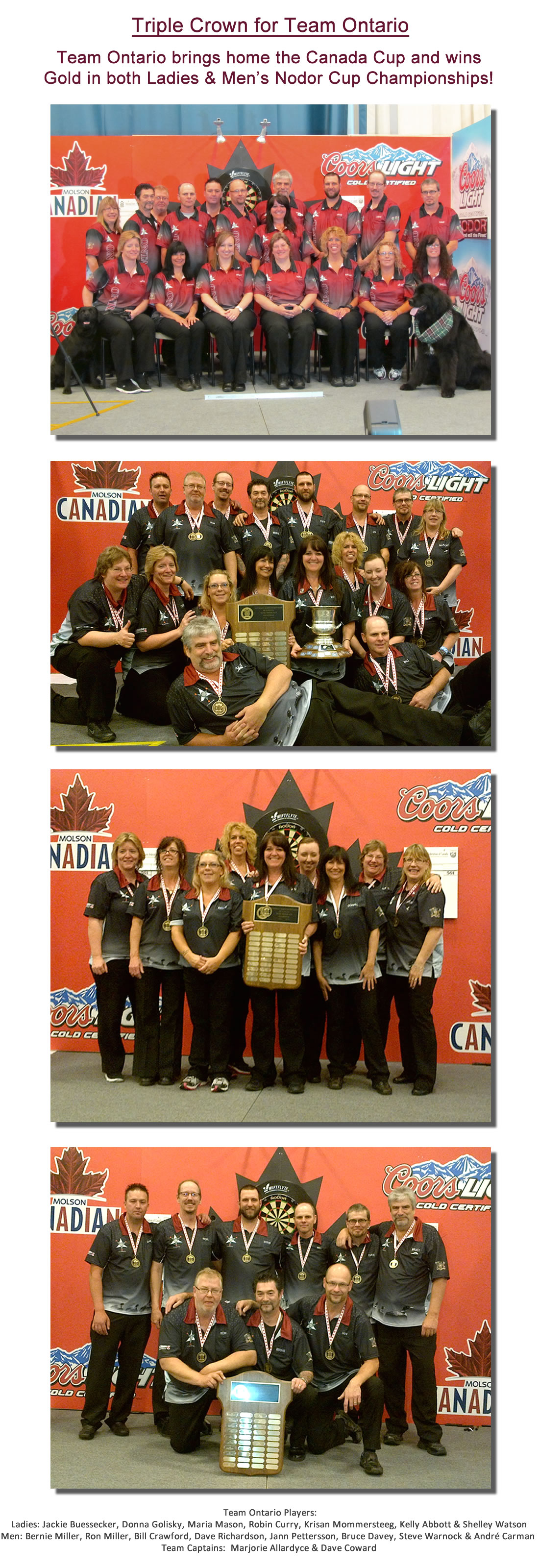Team Ontario Triple Crown