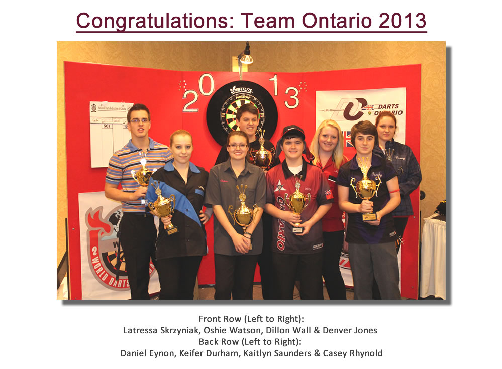 Youth Team Ontario 2013